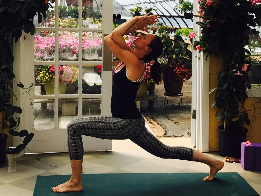 Sunrise Yoga Flow in the Greenhouse